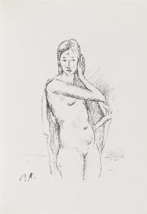 挿絵入り本 Auberjonois - Enveloppes.  20 lithographies originales de René Auberjonois