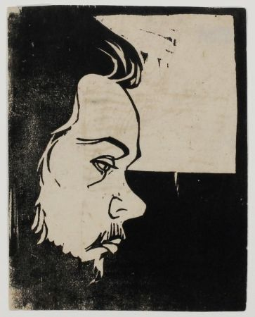 木版 Kirchner - Erich Heckel