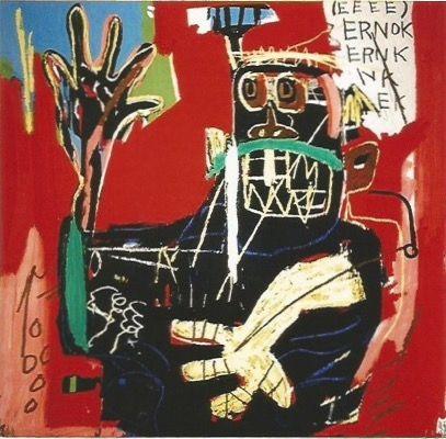 シルクスクリーン Basquiat - Ernok