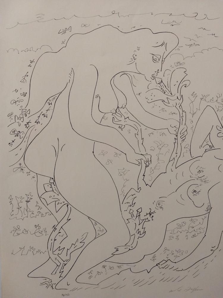 リトグラフ Masson - Erotic land