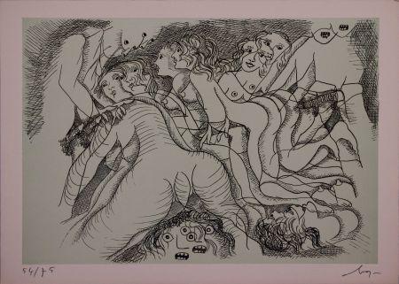 エッチング Baj - Erotica III