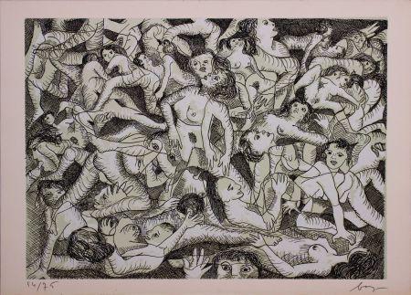 エッチング Baj - Erotica VIII