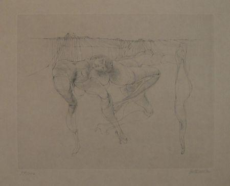 彫版 Bellmer - Erotische Szene
