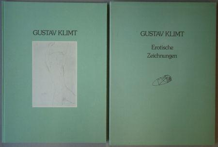 挿絵入り本 Klimt - Erotische Zeichnungen. Drawings Against Morality
