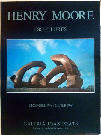 掲示 Moore - Escultures