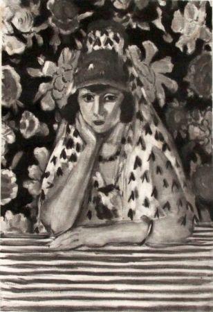 彫版 Matisse - Espagnole