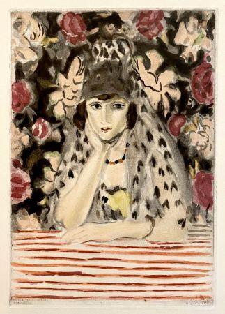 アクチアント Matisse - Espagnole a la Mantille