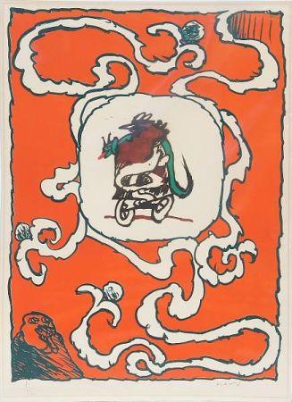 リトグラフ Alechinsky - Estampe de l'affiche