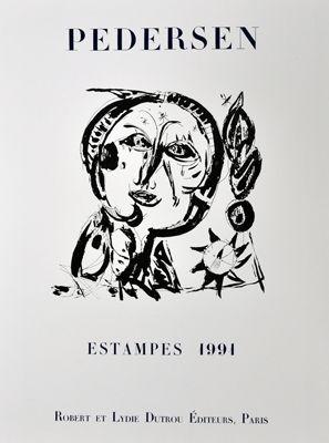 掲示 Pedersen - Estampes 1991