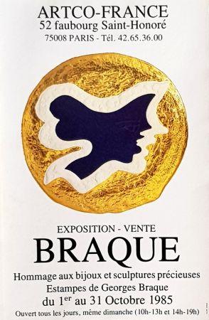 オフセット Braque - Estampes de Georges Braque