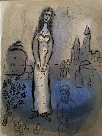 リトグラフ Chagall - Esther