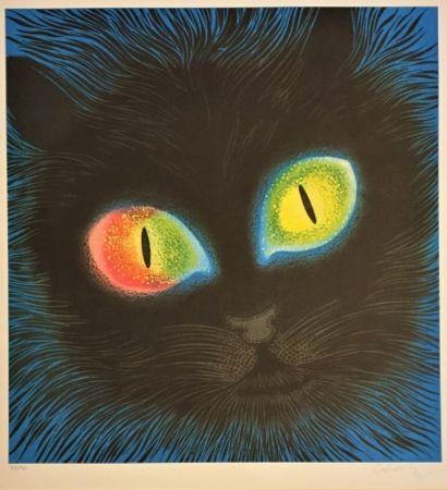 リトグラフ Vasarely - Etude de Lumiére