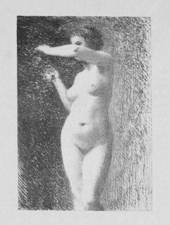 リトグラフ Fantin-Latour - Etude pour Eve