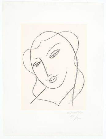 リトグラフ Matisse - Etude pour la Vierge,