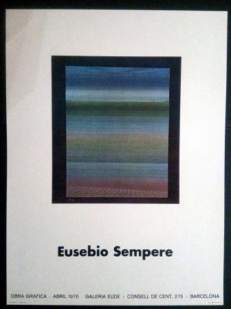 掲示 Sempere - EUSEBIO SEMPERE GALERIA EUDE 1976