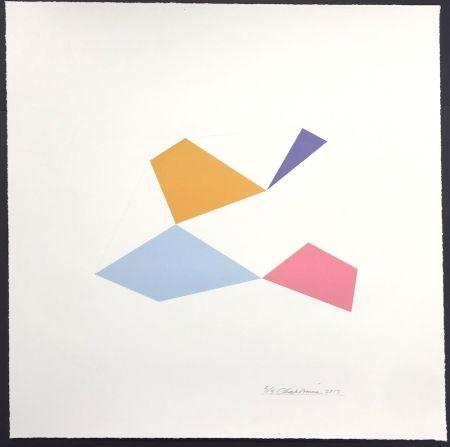 シルクスクリーン Hinman - Excelsior, from Kites Suite
