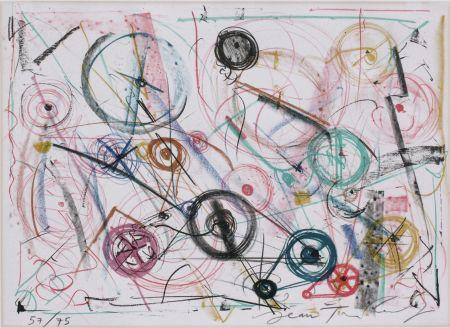 リトグラフ Tinguely - Exlibris