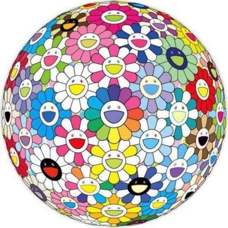 リトグラフ Murakami - Expanding Universe