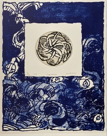 彫版 Alechinsky - Expiration