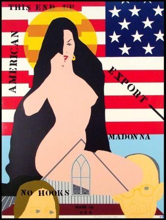 シルクスクリーン D'arcangelo - Export Madonna