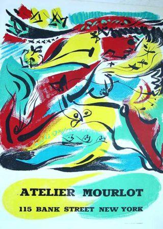 リトグラフ Masson - '' Exposition chez Mourlot NYC ''