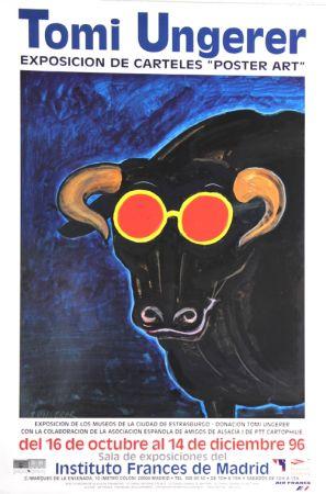 オフセット Ungerer - Exposition de Carteles Poster Art Madrid  1996