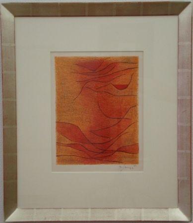 リトグラフ Singier - Exposition Galerie de France