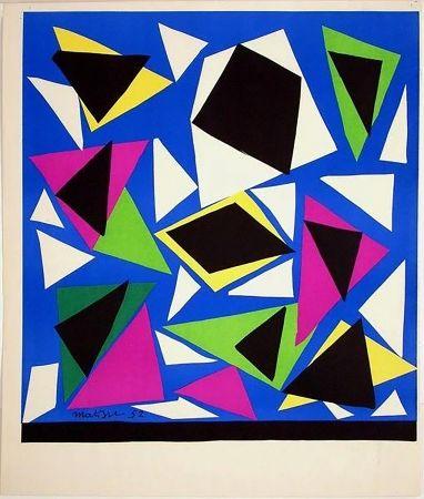 リトグラフ Matisse - Exposition Galerie Kléber 1952. Épreuve de luxe avant la lettre sur vélin d'Arches