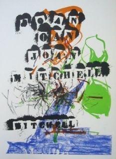 リトグラフ Mitchell - Exposition Jean Fournier