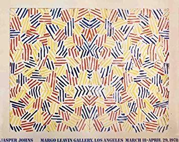 リトグラフ Johns - Exposition Margo Learin Gallery, Los Angeles , 1978