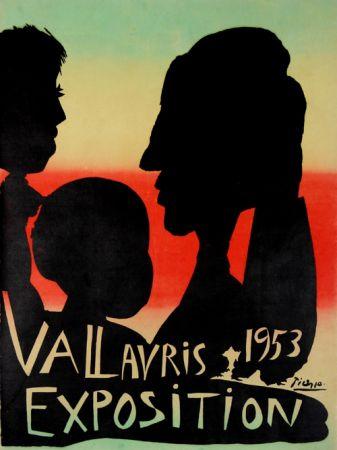 リトグラフ Picasso - Exposition Vallauris 1953