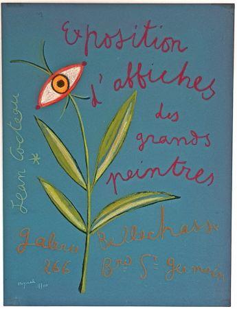 リトグラフ Cocteau - Expositions D'affiches des Grands Peintre