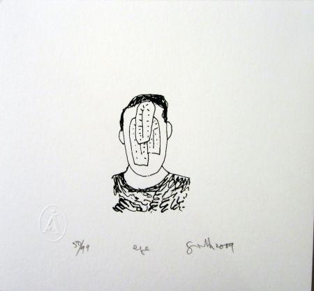 シルクスクリーン Gronk - Eye