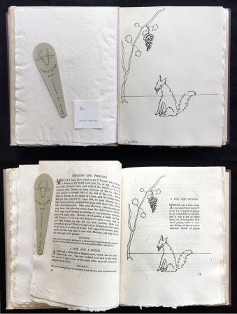 挿絵入り本 Calder - FABLES OF ÆSOP (1931), 1 des 50 avec dessin original.