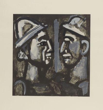 リトグラフ Rouault - FACE A FACE, 1933