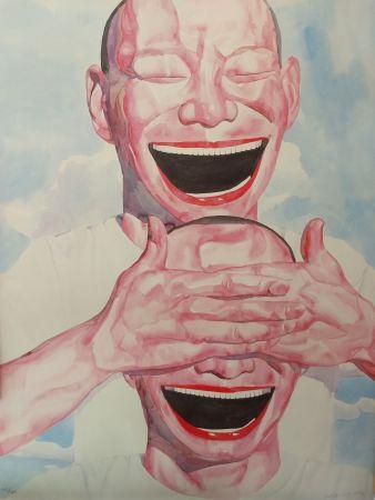 リトグラフ Minjun - Faces