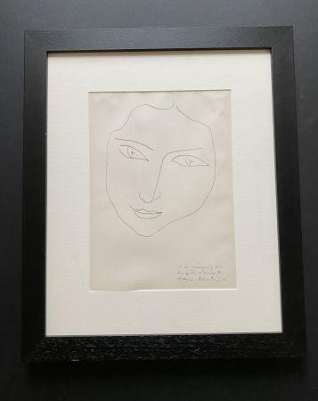 リトグラフ Matisse - Facing Woman