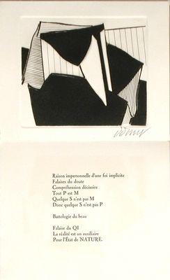 挿絵入り本 Dorny - Falaises du doute