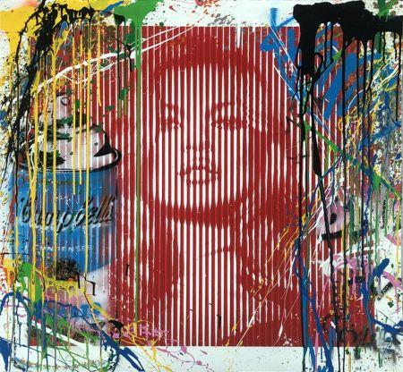 技術的なありません Mr. Brainwash - Fame Moss Red/ Kate Moss (HPM)