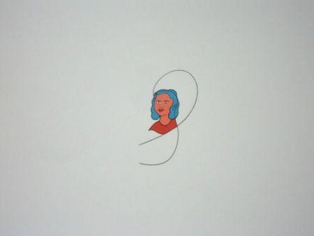 リトグラフ Dominicis (De) - Famiglia