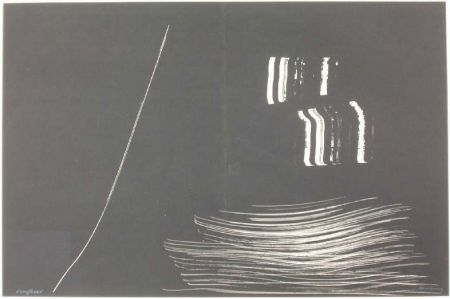 リトグラフ Hartung - Farandole 10