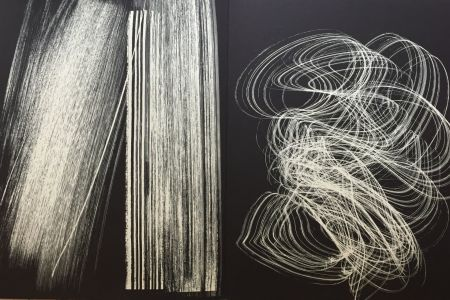 リトグラフ Hartung - Farandole 13