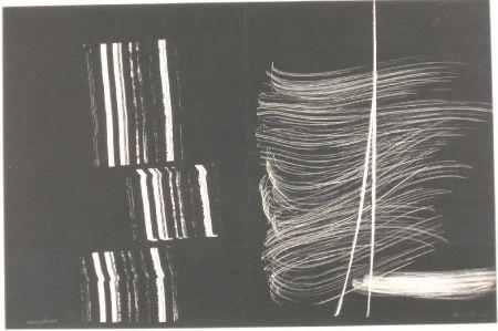 リトグラフ Hartung - Farandole 3