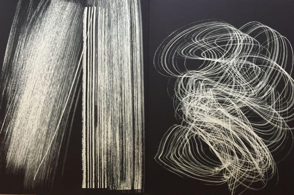 リトグラフ Hartung - Farandole L