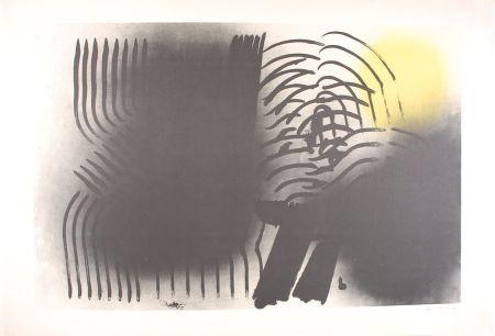 リトグラフ Hartung - FARANDOLE : L 1970-2
