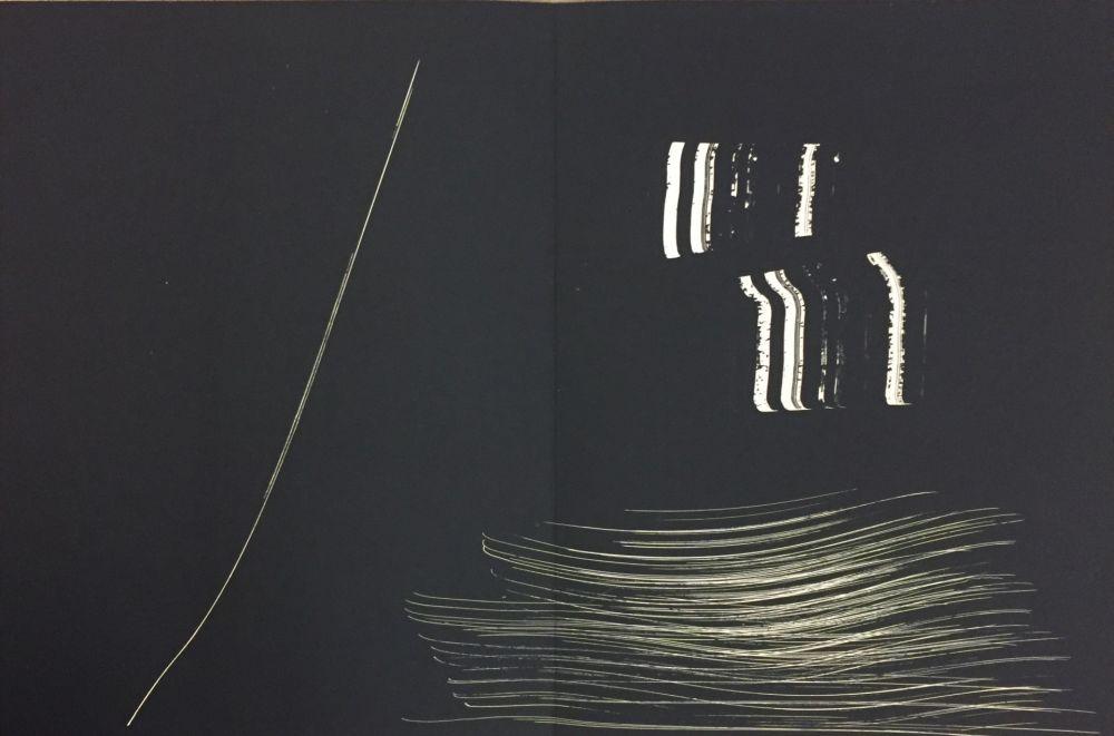 リトグラフ Hartung - Farandole M