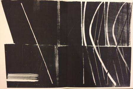 リトグラフ Hartung - Farandole N