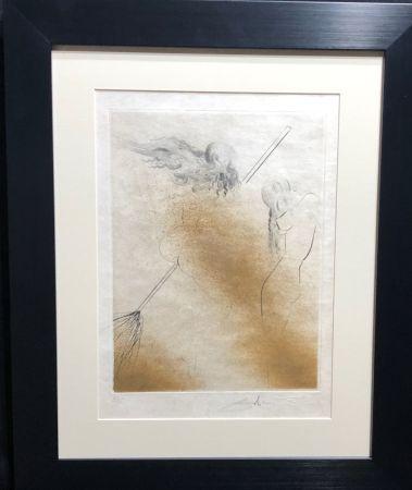 彫版 Dali - Faust Sorcieres au Balai