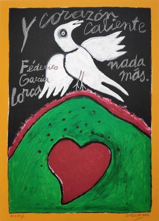 シルクスクリーン Corneille - Federico Garcia Lorca