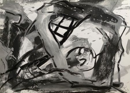 シルクスクリーン Vedova - Federico Garcia Lorca